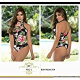 Moda Colombiana Womens Body Shaper Blouse Blusa Fajas Colombianas Ab Control Ref 4311 ONE SIZE