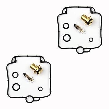 2x Kit Reparación Carburador Aguja del flotador Getor CAB-S8 ...