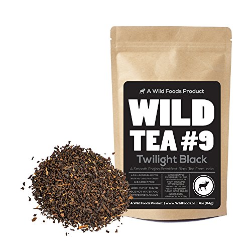 Tea Aged Oolong Tea (Black Tea From India, Wild Tea #9 Premium Organically Grown Loose Leaf Tea Black Tea (8 ounce))