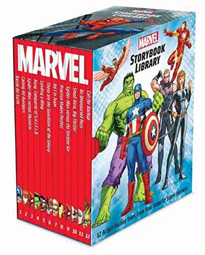 (Marvel Storybook Library Factory Sealed Box set 12 books Marvel Super Hero Stories)