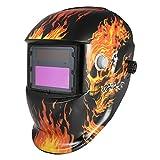 KKmoon Solar Energy Welding Helmet Auto Darkening Welding Helmets Welder TIG MIG Grinding Mask Robot Style