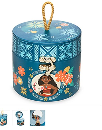 Disney - Moana Musical Jewelry Box - New