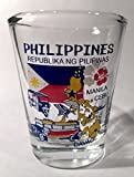 Philippines Landmarks and Icons Collage Shot Glass