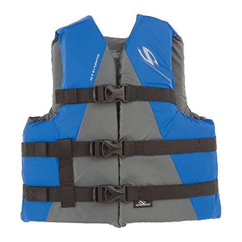 (Stearns Youth Watersport Classic Life Jacket, Blue )