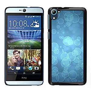 // PHONE CASE GIFT // Duro Estuche protector PC Cáscara Plástico Carcasa Funda Hard Protective Case for HTC Desire D826 / Blue Water Dive Ocean Light /
