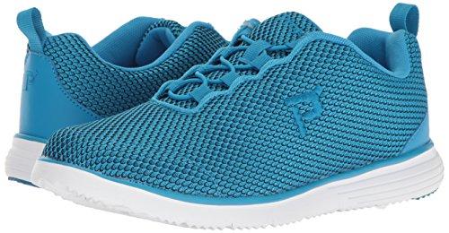 Propet Women's TravelFit Prestige Walking Shoe, Blue/Black, 9.5 W US by Propét (Image #6)
