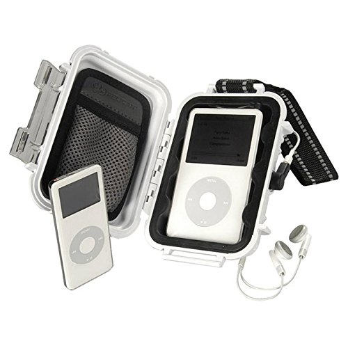 Pelican I-1010 Case White For Ipod / Shuffle/ Nano / Video 1010-045-230