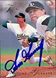 Signed Gossage, Goose (Oakland Athletics) 1993 Fleer Baseball Card autographed