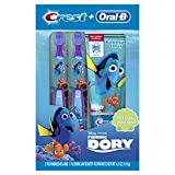 Crest Oral-B Pro-Health Junior Finding Dory Special Manual Toothbrush and Toothpaste for Kids (for children and toddlers age 2+) (Pack of 12)