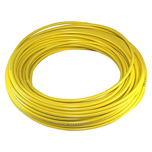 TEFLON BRAKE BIKE OUTER CASING CABLE HOUSING YELLOW LENGHT 1m DIAMETER 5mm FIXIE SINGLESPEED MTB ROAD VINTAGE PTFE (Casing Housing)