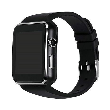 Bluetooth Smart Watch, Reloj Deportivo Para Iphone, Teléfono Android Con Cámara FM, Soporte