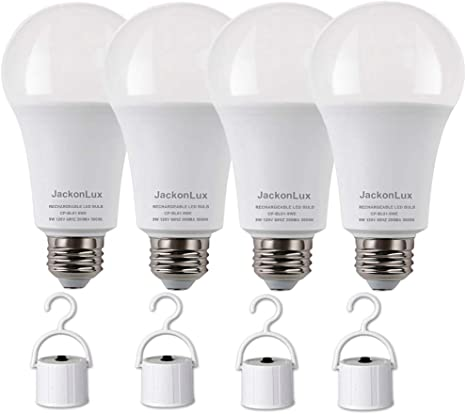 Amazon.com: JackonLux - Bombilla Led de emergencia ...