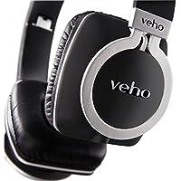 Veho VEP-008-Z8 Designer Aluminum Headphones with Detachable Flex Cord System and Folding Design