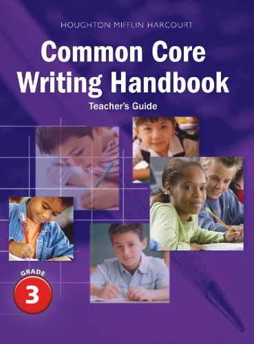 Common Core Writing Handbook, Teacher's Guide, Grade 3