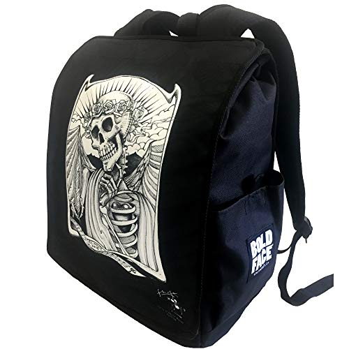 Grateful Dead Backpacks by Stanley Mouse (Skeleton Writing Music)