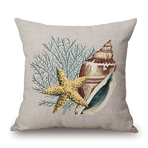 maplehouse Custom playa tema caracola y estrellas de mar ...