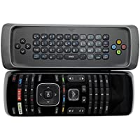 New XRT300 Keyboard TV Remote Control fit for Vizio TV E390I-B0 E390I-B1 E400I-B2 E401I-A2 E420I-A1 E420I-A0 E420I-B0 E420D-A0 E480I-B2 E500D-A0 E500I-A1 with Amazon Netflix Vudu