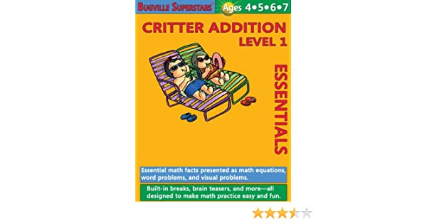 Math Superstars Addition Level 1 (Essential Math Facts for Ages 4 ...