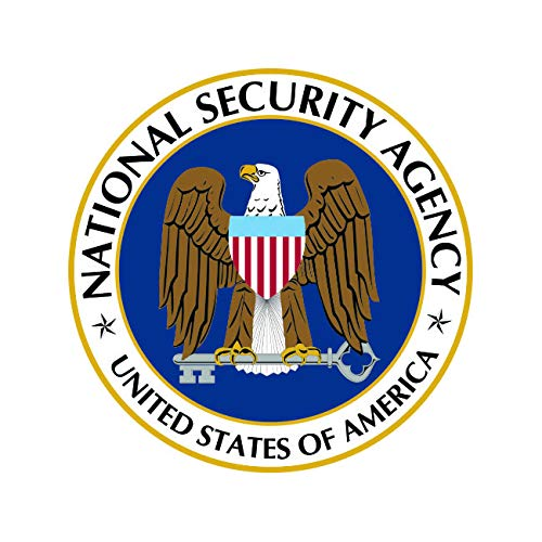 fagraphix National Security Agency NSA Sticker Decal Self Adhesive Vinyl Covert FA Vinyl - 4.00 Wide