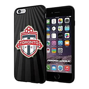 diy zhengSoccer MLS TORONTO SOCCER CLUB FOOTBALL FC Logo, Cool iphone 5/5s Smartphone Case Cover Collector iphone TPU Rubber Case Black