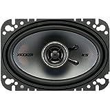 2) New Kicker 41KSC464 4x6 150 Watt 2-Way Car Audio Coaxial Speakers KSC464