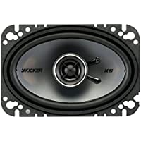 2) New Kicker 41KSC464 4x6 150 Watt 2-Way Car Audio Coaxial Speakers KSC464