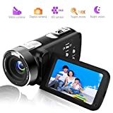 Best Compact Digital Camera For Action Shots - Camcorder Digital Camera Full HD 18X Digital Zoom Review