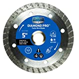 Century Drill and Tool 75462 Professional Turbo Rim Diamond Saw Blade, 5''