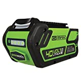 Best Greenworks Battery Leaf Blowers - Greenworks 40V 5.0 AH Lithium Ion Battery LB40A010 Review