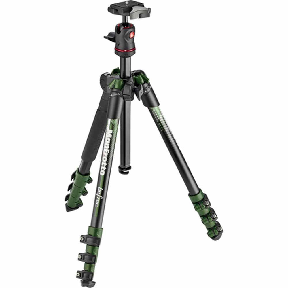 Manfrotto traveler BeFree Tripod with Ball Head - Green (MKBFRA4GR-BH)