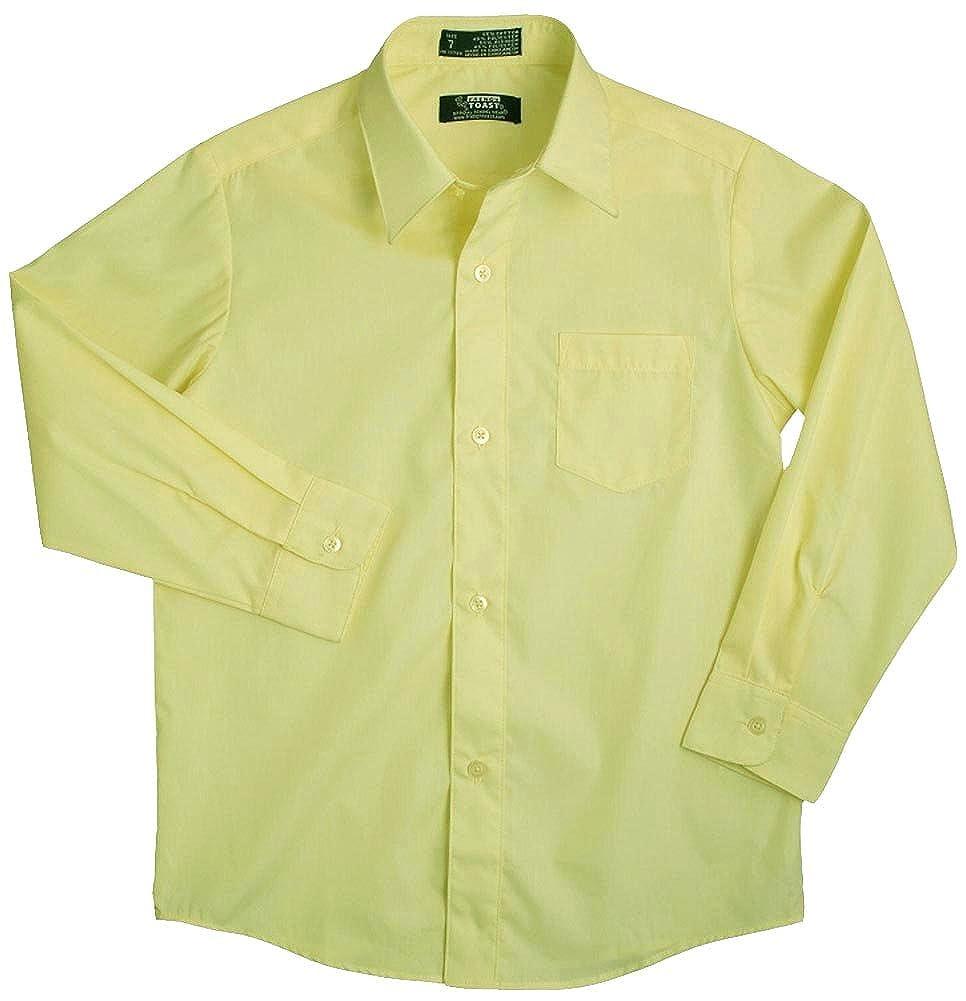 French Toast Little Boys LS Poplin Dress Shirt E9004 34137