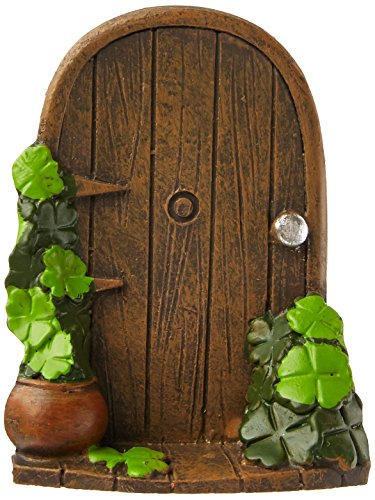 Darice 30000868 St. Patrick's Day Miniature Figurine-Door