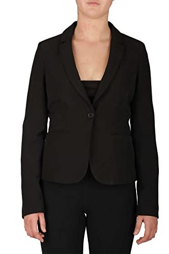 Women's Blazer Jacket LIU JO WXX047 T7896 22222 Black 2/H FALL WINTER 2017-18