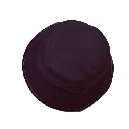 ZHPUPU Sombrero De Sol Señora De La Moda Retro Sombrero Negro