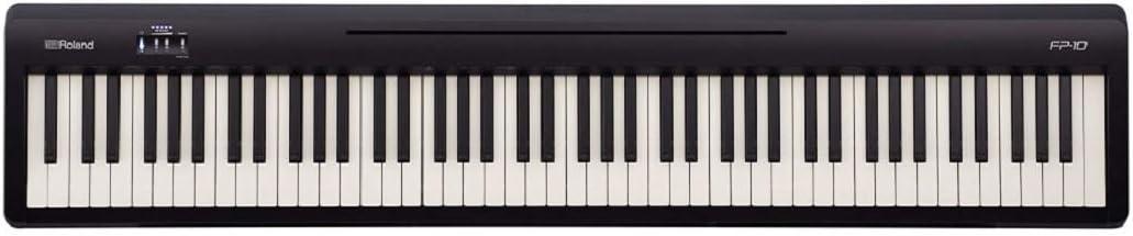 Roland 電子ピアノ FP-10-BK コンパクト