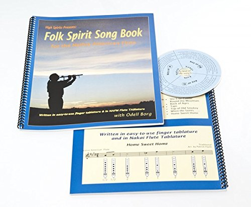 Folk Spirit Song Book for the Native American Flute