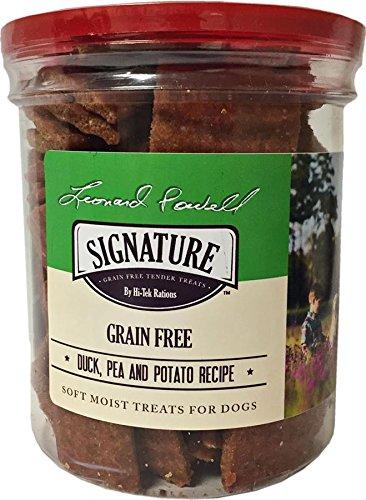 LEONARD POWELL SERIES LPSS802 Grain-Free Duck Tender Treats for Dogs, 24 oz (Leonard Dog House)