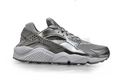 Nike Air Huarache Damen Silber