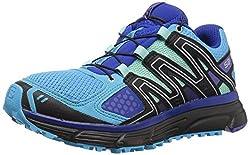 Salomon Women's X-mission 3w Trail Running Shoe, Aquarius, 9 M Us