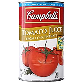 Campbell's Tomato Juice Cans, 46 oz