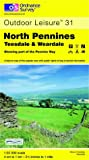 North Pennines: Teeside and Weardale (Outdoor Leisure Maps)