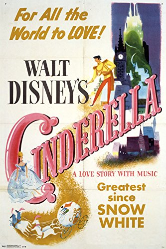 Trends International Cinderella One Sheet Collector's Edition Wall Poster 24