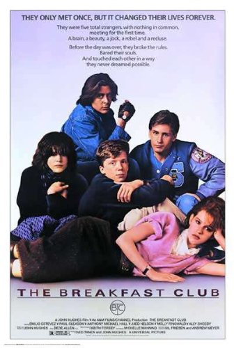 Breakfast Club, The, Movie Poster from Barewalls