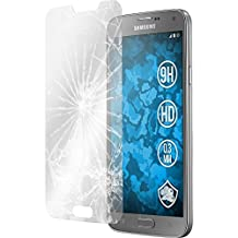 2 x Samsung Galaxy S5 Neo Protection Film Tempered Glass clear - PhoneNatic Screen Protectors