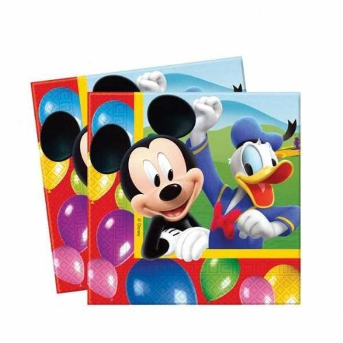 Amazon.com: Amscan Mickey Mouse 20-Luncheon Napkins: Toys ...