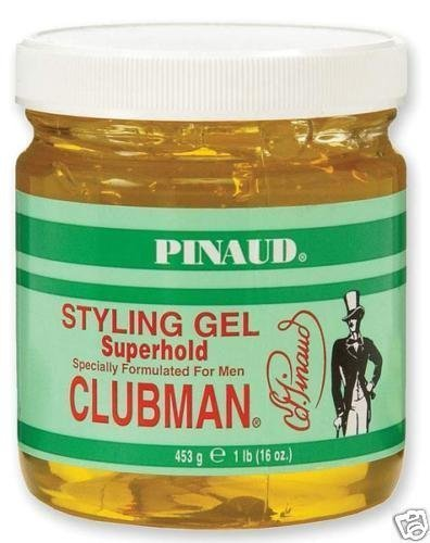 Clubman Pinaud Styling Gel Super Hold Hair Styling Creams
