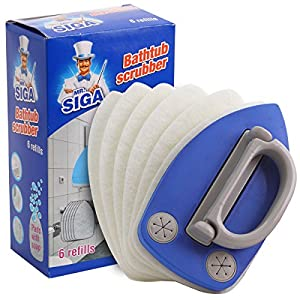 Amazon Com Mr Siga Bathtub Scrubber Pad Included 6