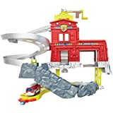 Matchbox Cliff Hangers Fire Station Playset