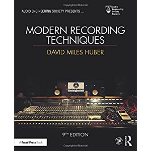 New used books for acoustics and sound modern recording techniques audio engineering society presents fandeluxe Images