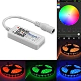 SIENOC DC12-24V Wireless Bluetooth RGB RGBW LED Strip Controller